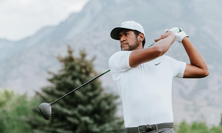 Tony Fina, a professional golfer