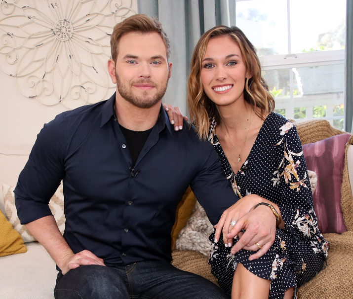 Kellan Lutz and his wife, Brittany Gonzales