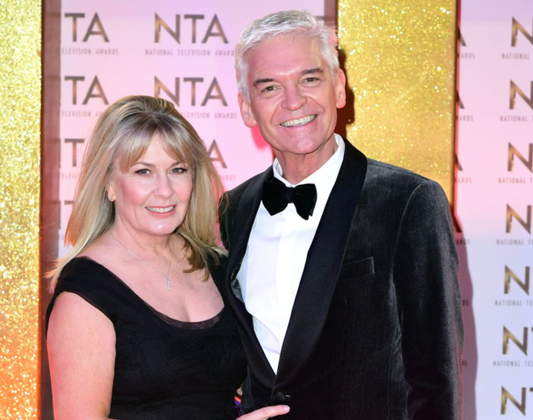 Phillip Schofield and his wife, Stephanie Lowe