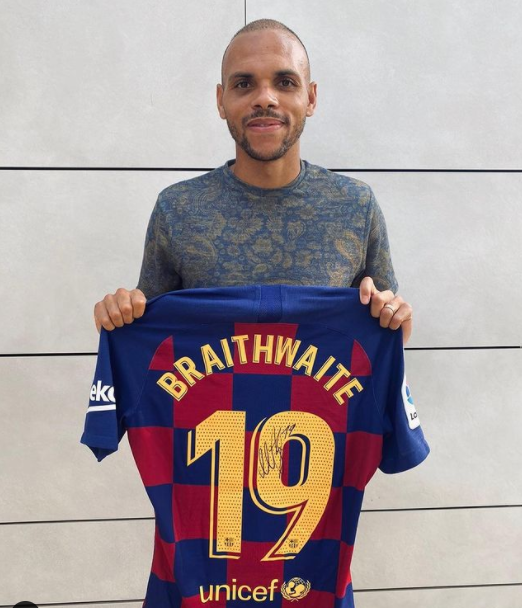 Martin signed a four and a half year contract with the team, Barcelona
