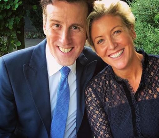 Anton du Beke With His Wife Hannah Summers