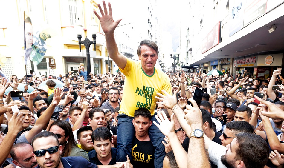 Jair Bolsonaro During The Election