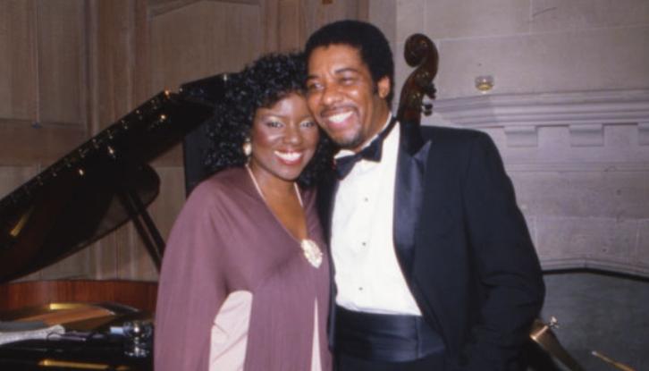 Gloria Gaynor with her ex-husband, Linwood Simom