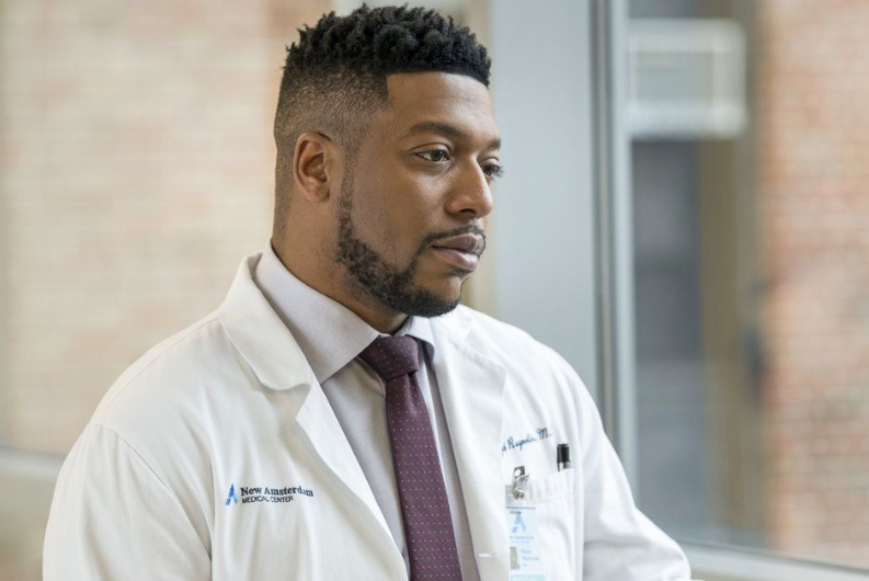 Jocko Sims In The Medical Series New Asterdam