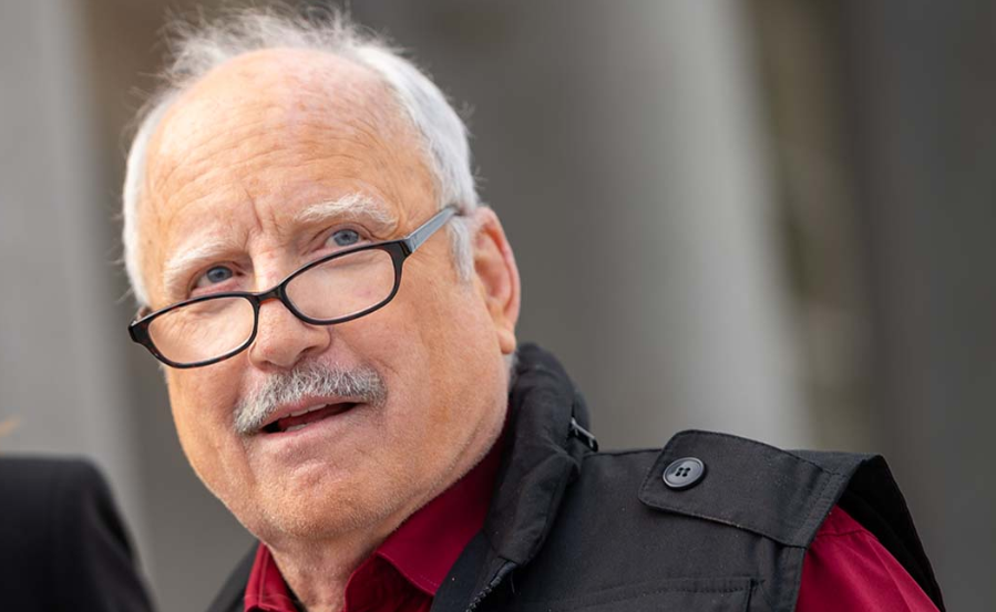 Richard Dreyfuss, an award winning actor
