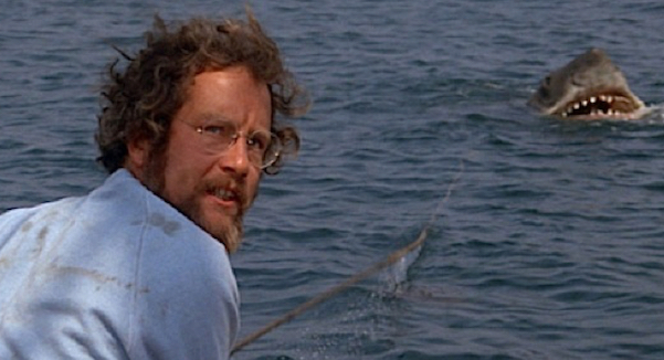 Richard Dreyfuss in Piranha