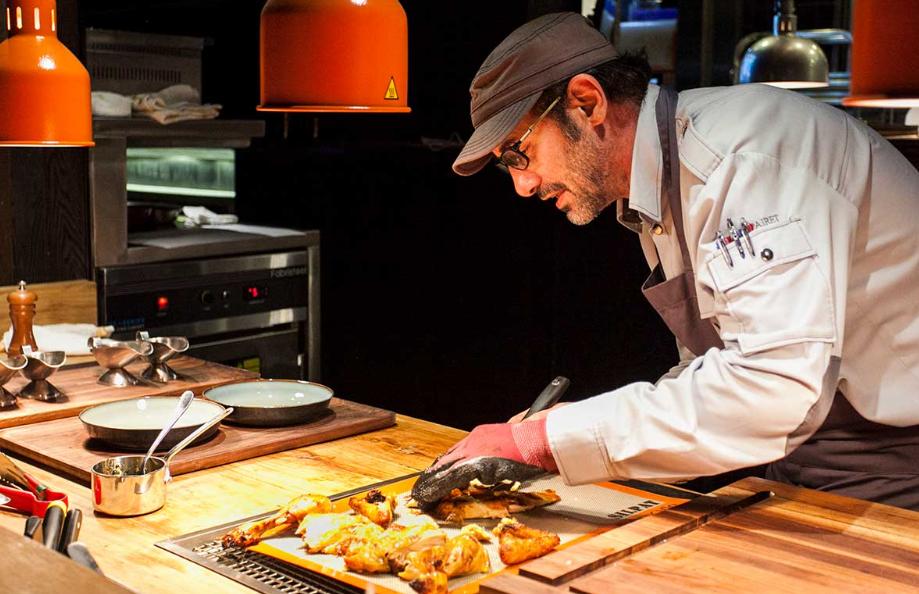 Paul Pairet, the famous chef