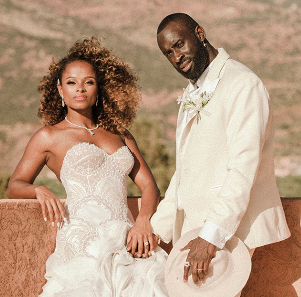 Fleur East With Her Husband Marcel Badiane-Robin