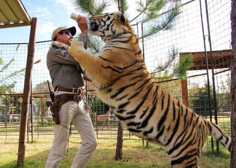 Joe Exotic With The Tiger King