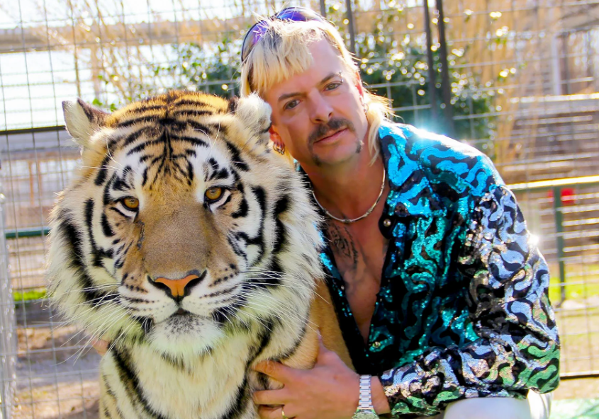 Joe Exotic With Tiger