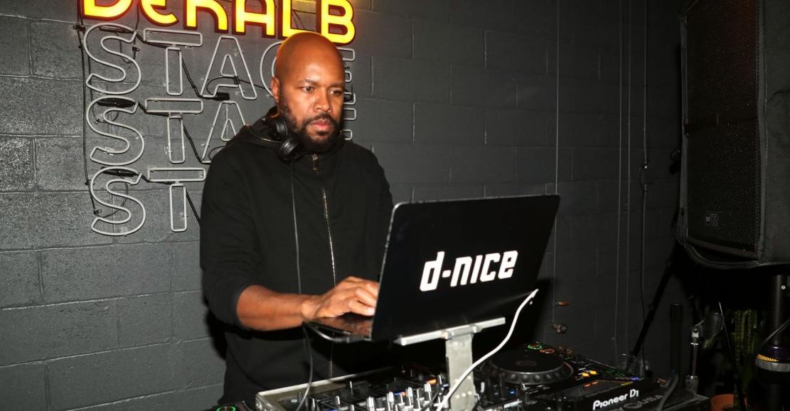 D-Nice, a famous disc jockey, beatboxer, rapper