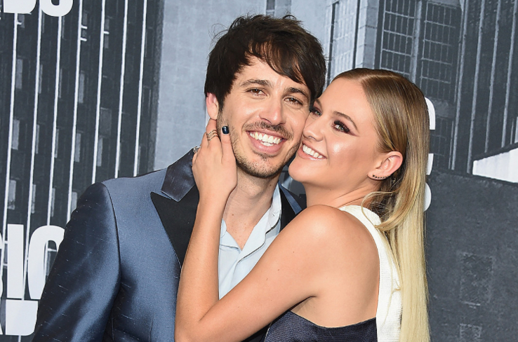 Kelsea Ballerini and her husband Morgan Evans