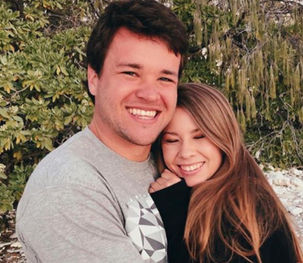 Chandler Powell And His Wife, Bindi Irwin