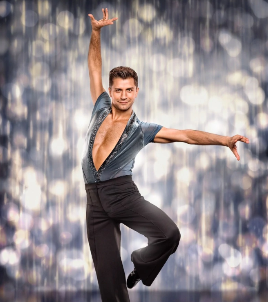Pasha Kovalev, contestant of 'Strictly Come Dancing'