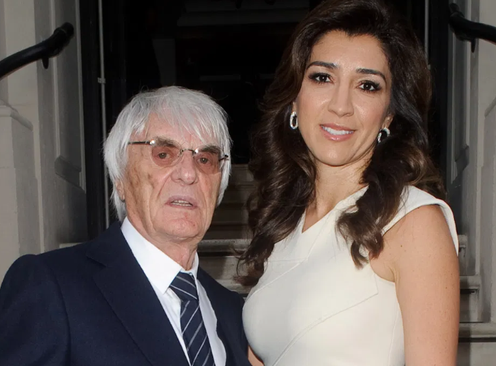 Bernie With His Wife, Fabiana Flosi