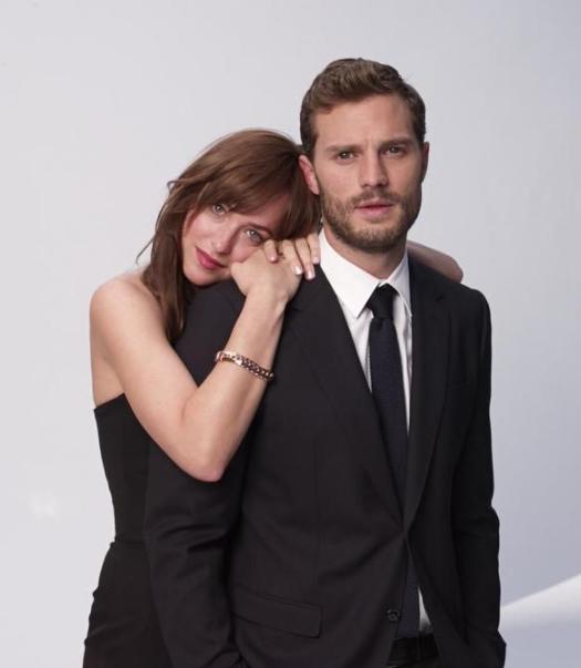 Jamie Dornan appeared alonsgside, Dakota Johnson in the film 'Fifty Shades Of Grey'