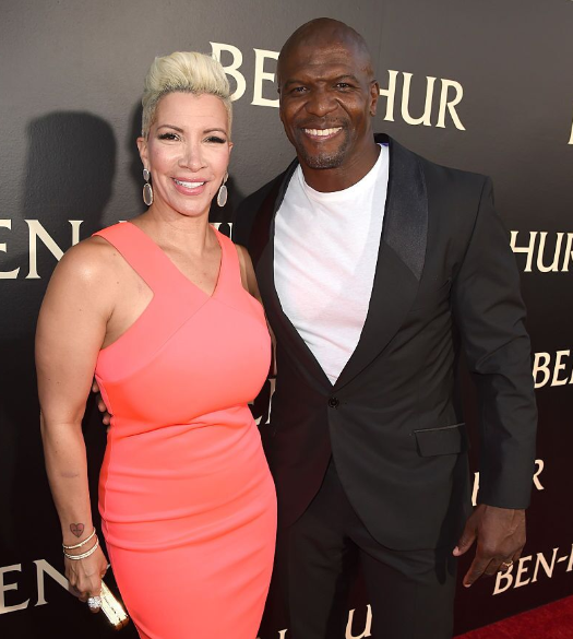 Rebecca King-Crews and her husband; Terry Crews