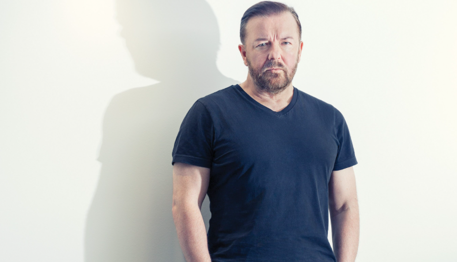Ricky Gervais, a famous comedian, actor, writer, producer, and director