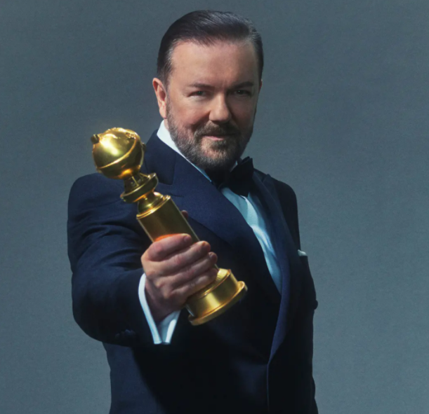 Ricky Gervais, and award winning actor