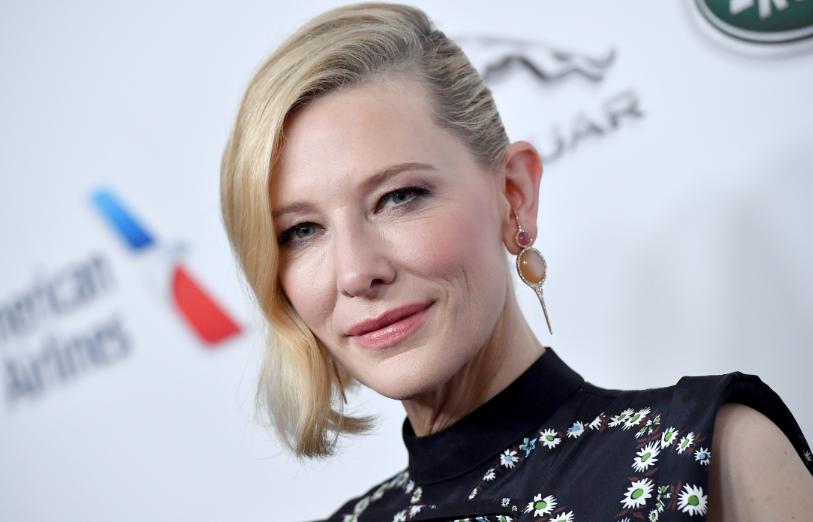 Cate Blanchett, a famous actress