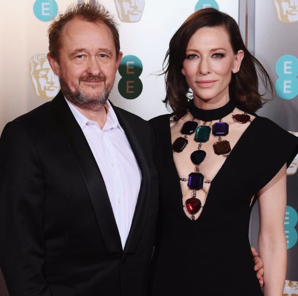 Cate Blanchett With Her Husband Andrew Upton