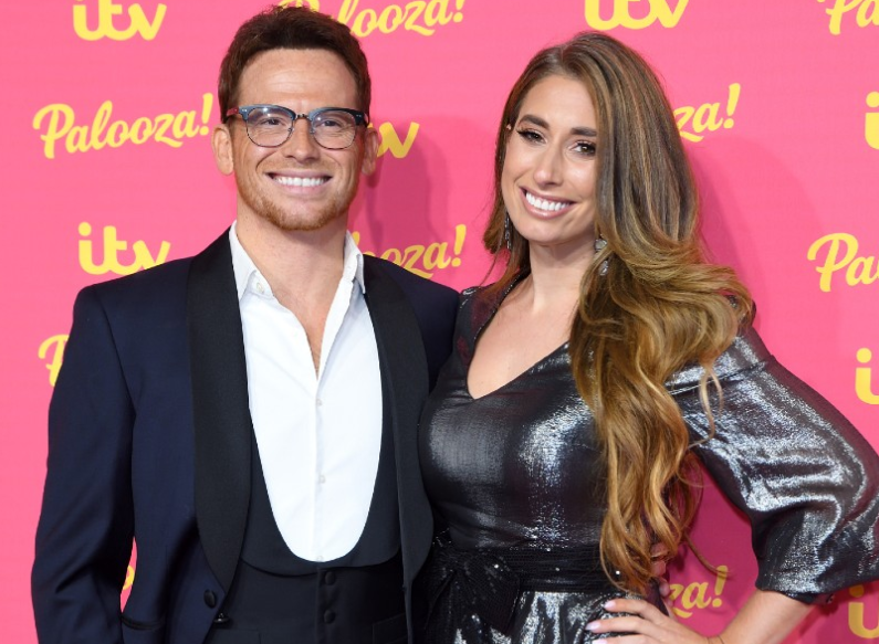 Stacey Solomon with her partner Joe Swash