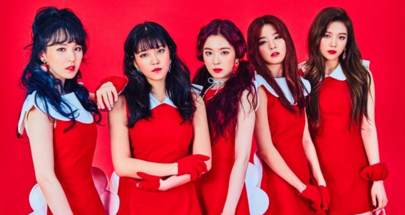 Member of Red Velvet; Irene, Seulgi, Wendy, Joy, & Yeri