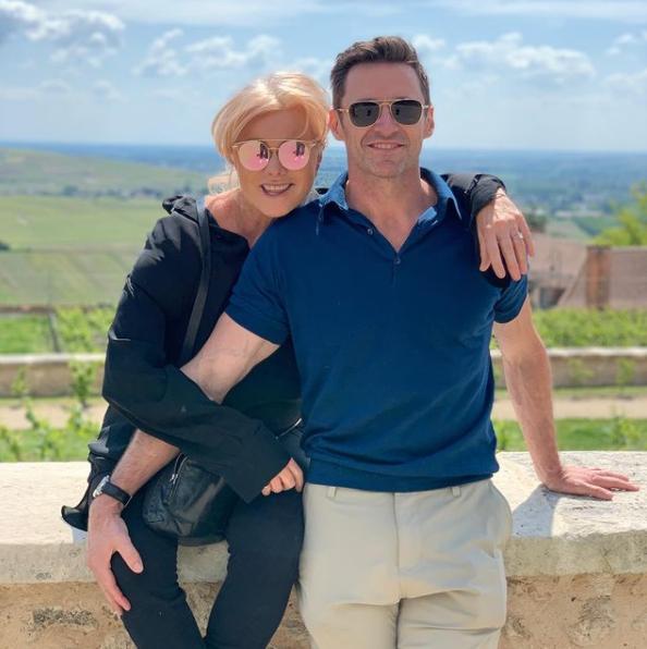 Hugh Jackman with his wife, Deborra-Lee Furness