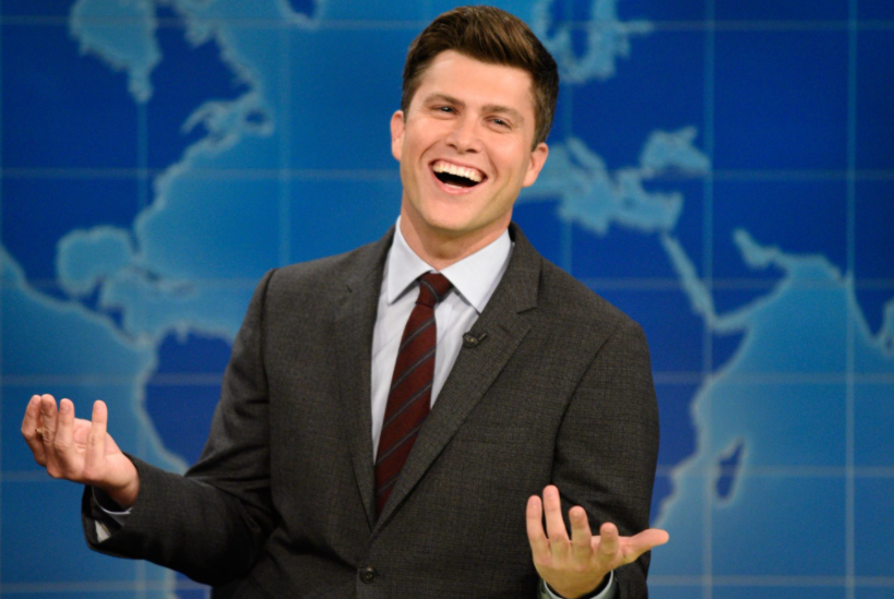 Colin Jost, a famous comedian, actor, and writer