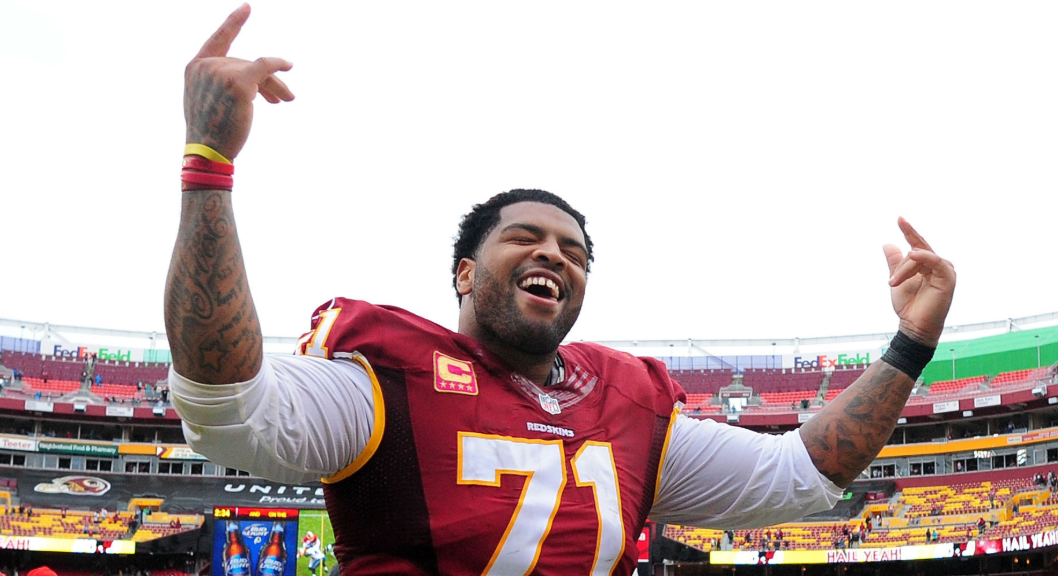 Trent Williams, a famous American footballer