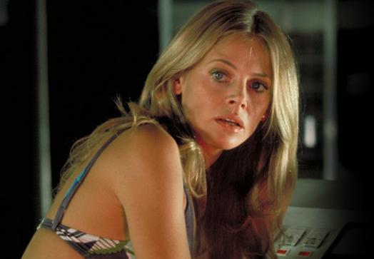Britt Ekland in the movie The Man With Golden Gun