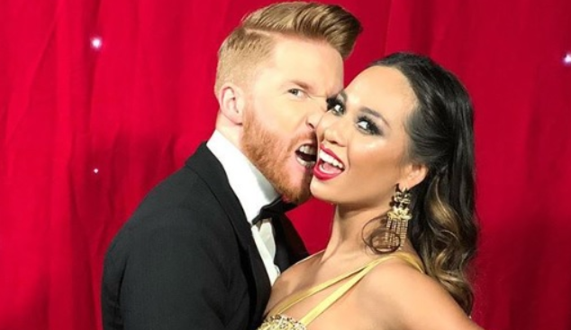 Neil Jones and Katya Split
