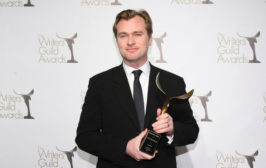 Christopher Nolan with Award