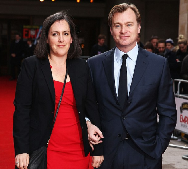 Christopher Nolan with his wife, Emma Thomas