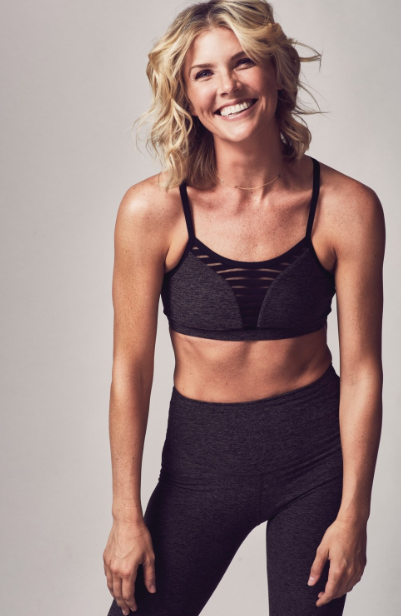 Amanda Kloots, an expert fitness trainer