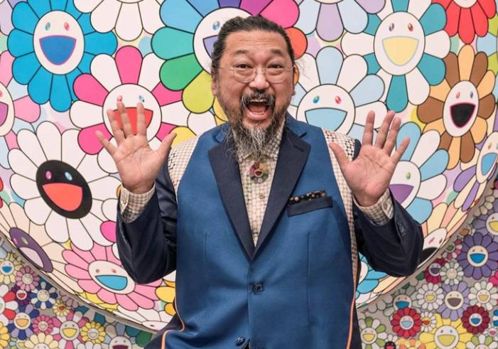 Takashi Mukarami, a famous Japanese Artist
