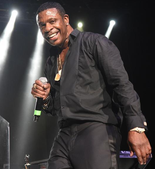 Keith Sweat in concert
