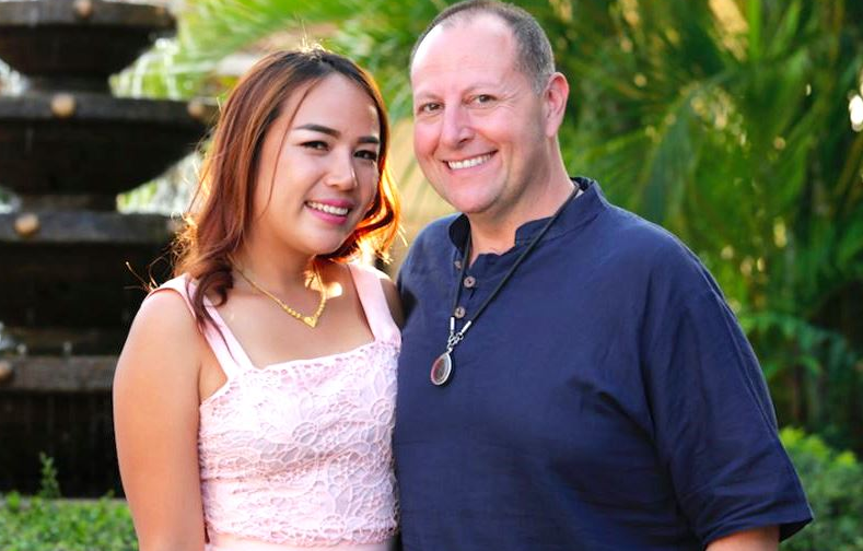 David Tonorowsky With His 90 Day Fiance Partner Annie Suwan