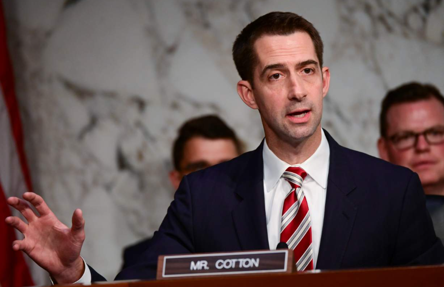 Tom Cotton, a famous politician