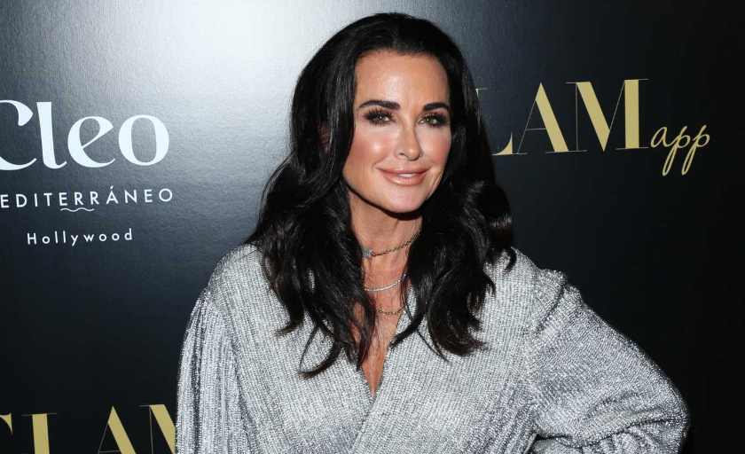 Kyle Richards, a famous actress