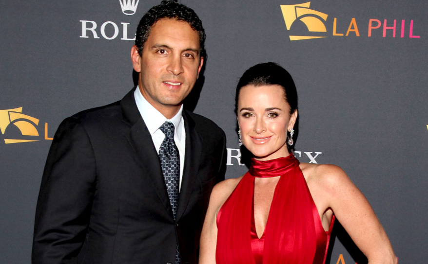 Kyle Richards With Her Husband Mauricio