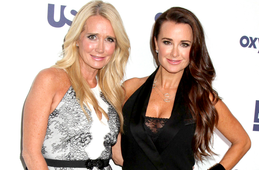 Kyle Richards With Her Sister, Kim Richards