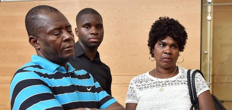 Odsonne Edouard parents
