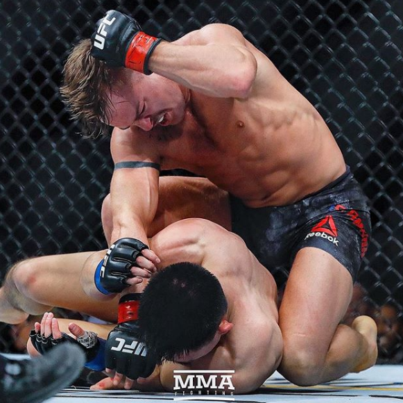 Cody Stamann Fighting Against The Opponent