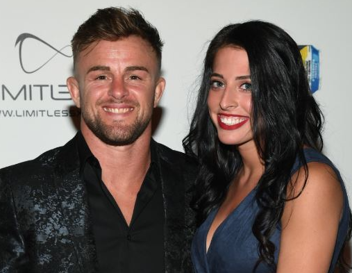 Cody Stamann with his girlfriend Sydney Grae