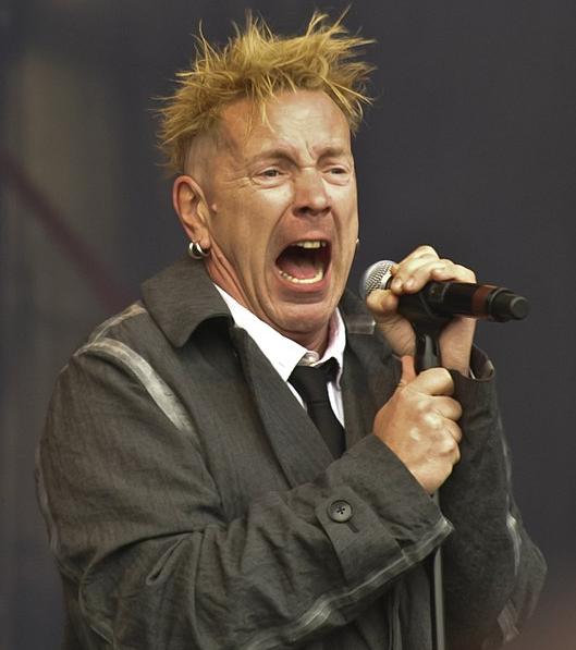 John Lydon, a famous singer