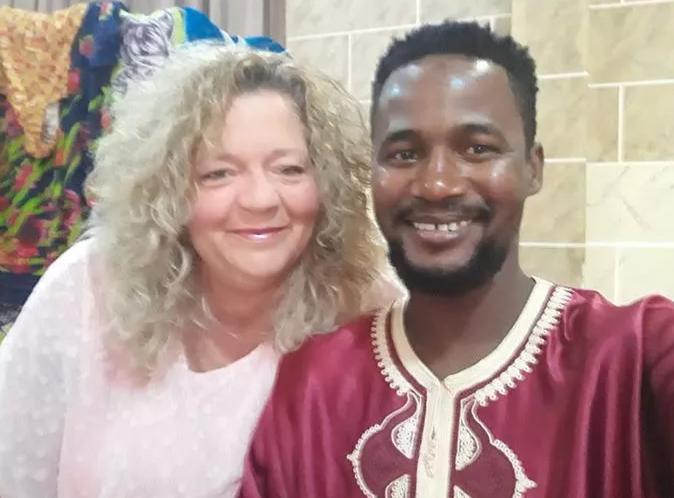 Usman Umar With His Ex-Wife, Lisa Hamme