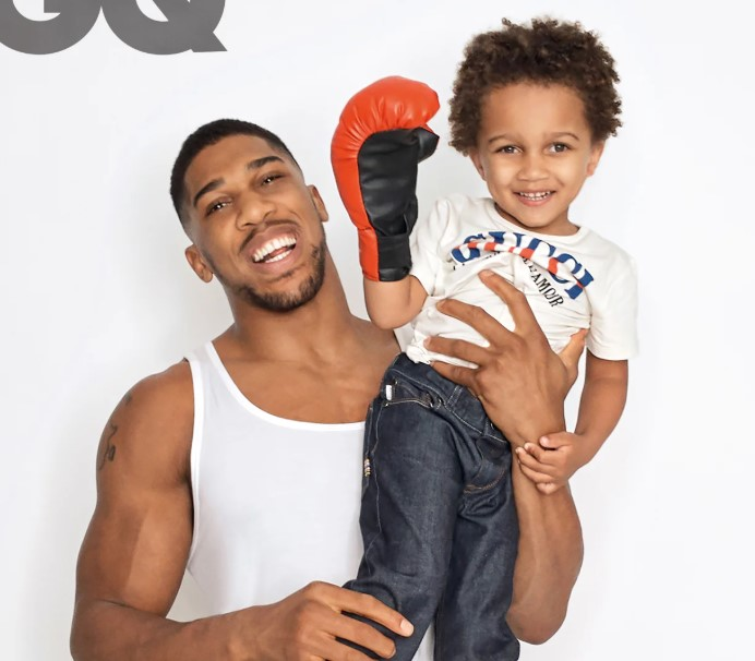 Anthony Joshua son