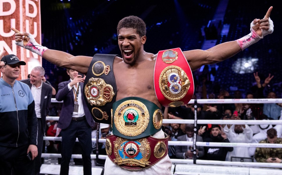 Anthony Joshua titles