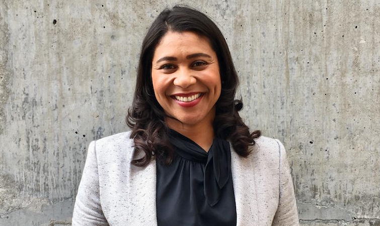 London Breed, a famous politician